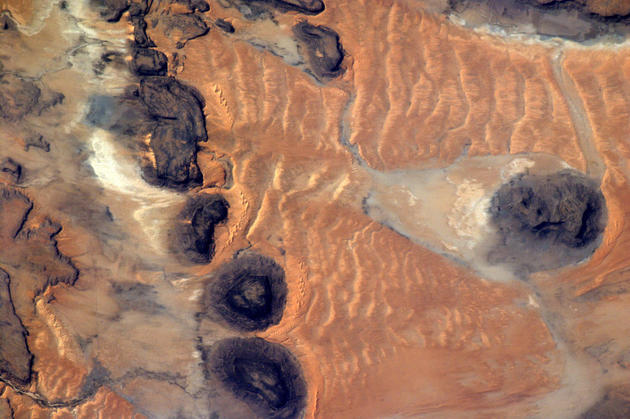 Mauritanie From Space by Andre Kuipers