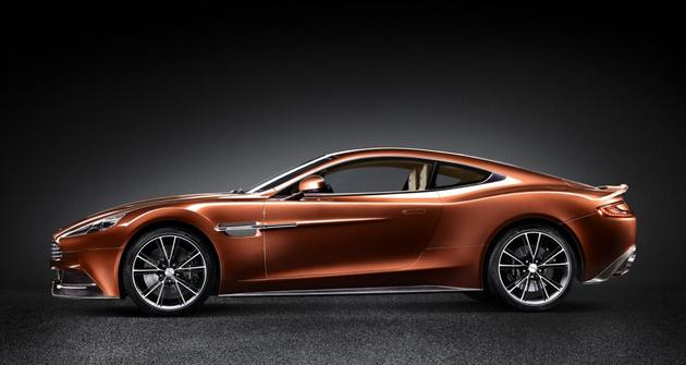 Aston Martin AM 310 Vanquish 2013 Side View