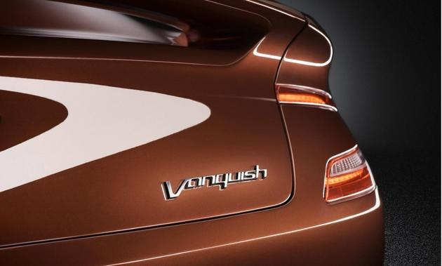 Aston Martin AM 310 Vanquish 2013 Badge Rear View