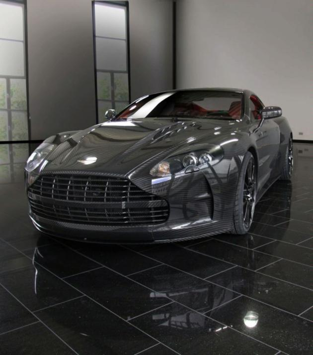Fully Carbon Fibre Aston Martin DBS By Mansory
