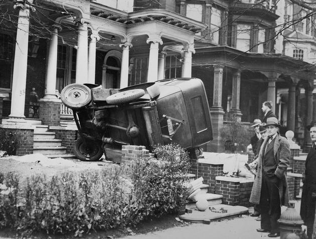 Automotive Accidents from long ago