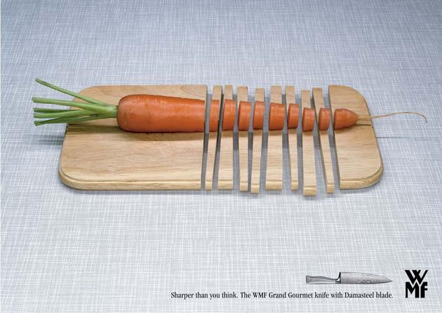 Cutting Board Knives Advertisement
