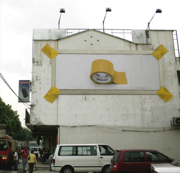 Tape Advertisement