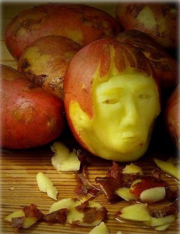 Creative carvings made out of food and fruit i like to