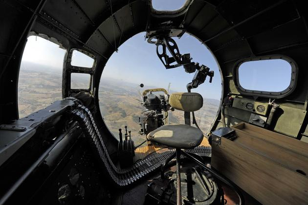 Flying Fortress Bombardier Position Wallpaper