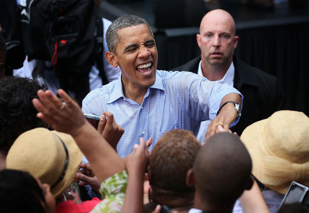 Charismatic Faces of Barack Obama