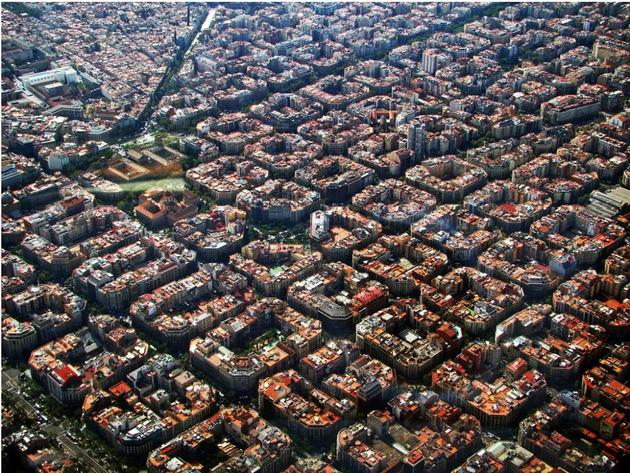 Symmetry of Barcelona