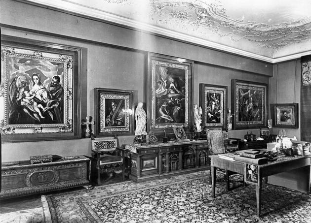 Baron Mor Lipot Herzog Private Study Room