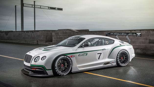 Bentley Continental Race Car