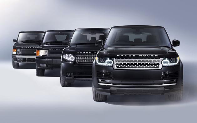 Range Rover Evolution