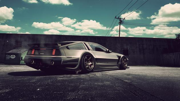 Delorean stanced concept
