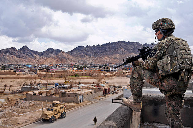 Arghanistan roof watch
