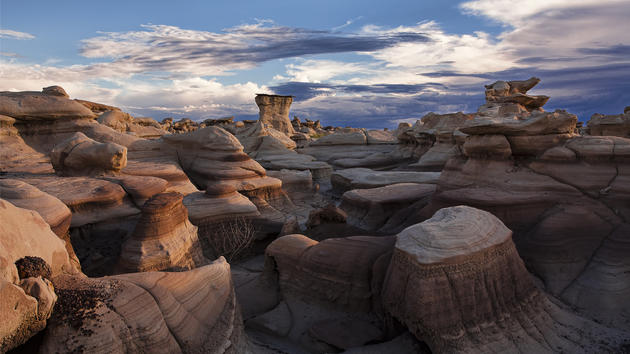 Bisti Wilderness Area HD Wallpaper