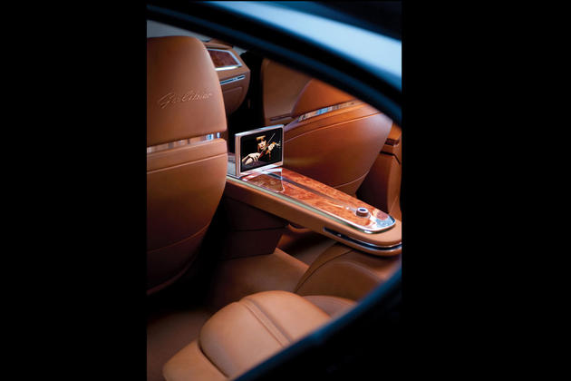 2015 Bugatti Royale 16C Galibier Concept Rear Interior