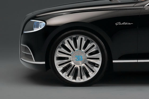 2015 Bugatti Royale 16C Galibier Concept Crazy Light Up Badges