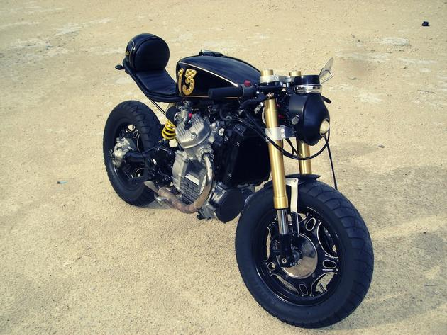 Honda CX500 Cafe Racer by Gary in Decorah, Iowa
