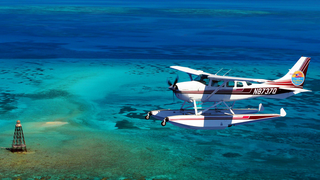 Cessna on Floats in Florida HD wallpaper