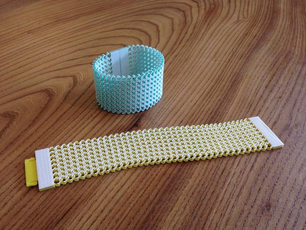 Chainmail bracelet - 3D printable jewelry accesories
