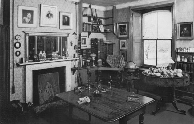 Charles Darwin Private Study Room