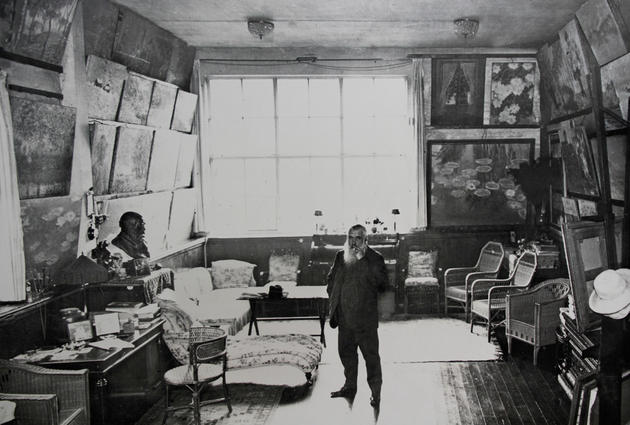 Claude Monet Private Study Room
