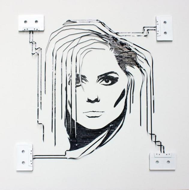 Video tape art