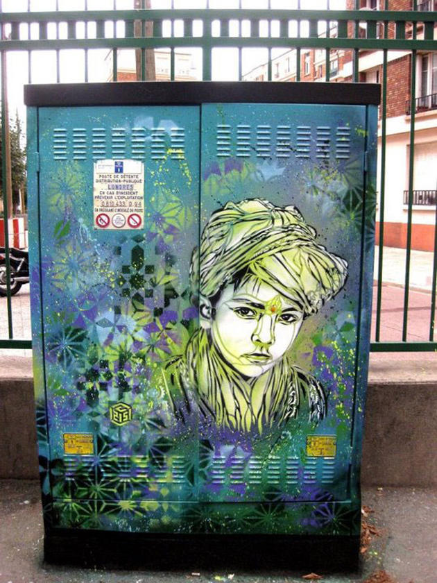 Powerbox graffiti