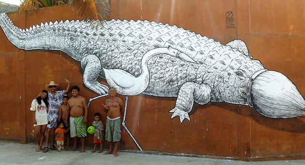 Alligator Graffiti