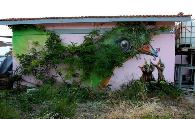 Super Creative Street Art Graffiti Around World