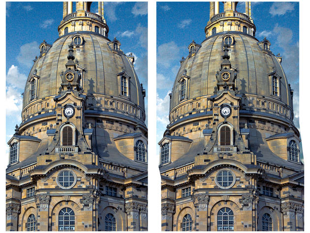 Dresden Frauenkirche 3D photo
