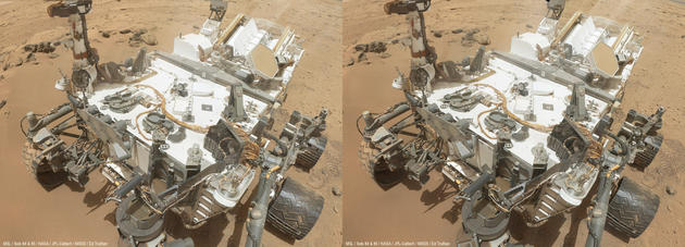 NASA rover cross eye 3D