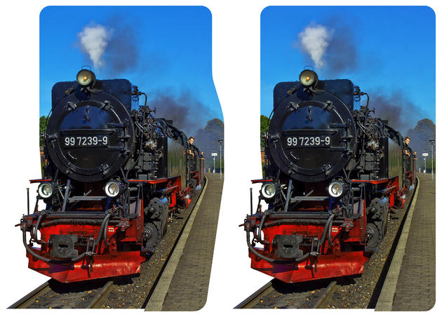 Brocken Railway 3D photo