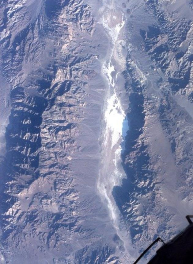 Death Valley as seen from Space