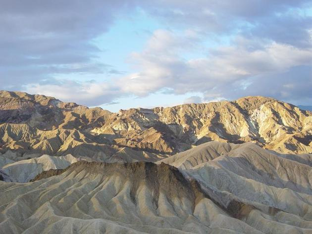 Rugged Terrain of Death Valley