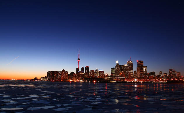 Downtown Toronto by Dhebojit Dhar