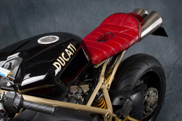 Ducati 1098R Mr Martini Flashback Seat and Fuel Tank