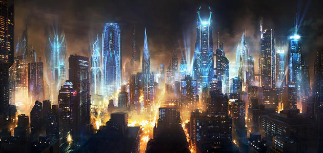 City of the Future Post-Apocalypse