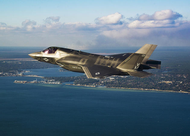 F-35B arrival at Elgin Air Force Base