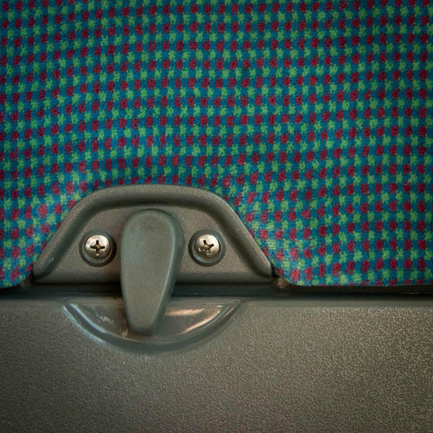 Airplane seat table Face