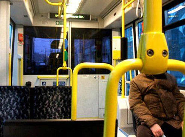Bus Handle Face