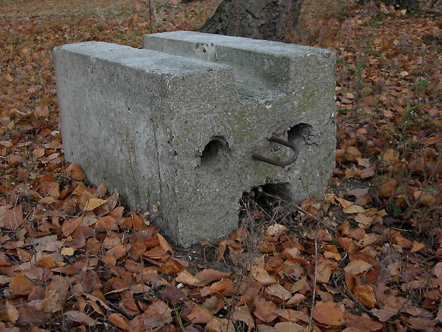 Concrete Block Face