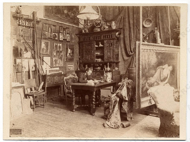 Fernand Cormon Private Study Room