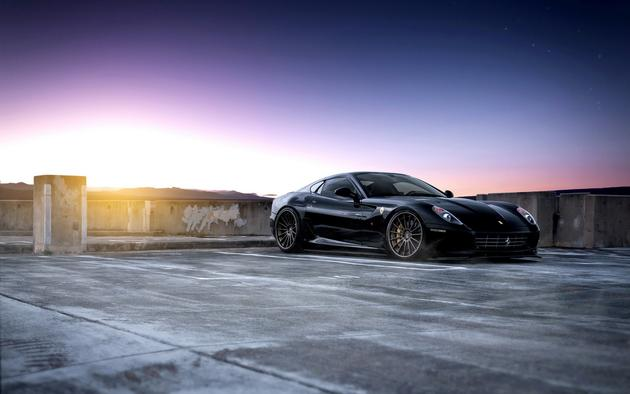 Ferrari 599 by ADV.1 & SP Engineering HD Wallpaper