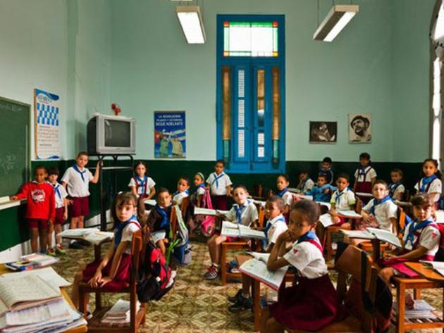 First Day of School in Cuba