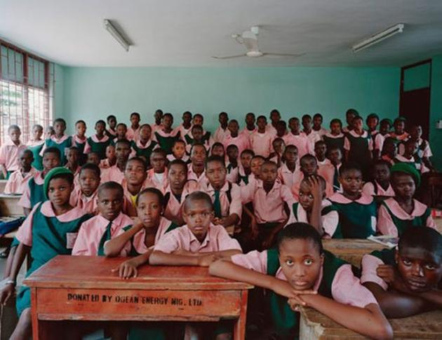 First Day of School in Nigeria