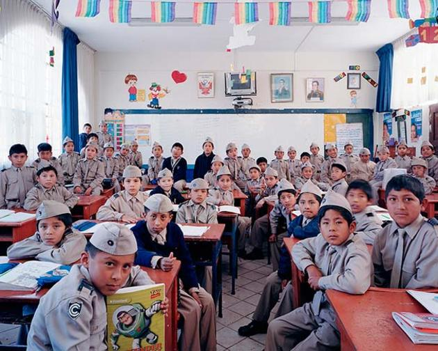 First Day of School in Peru