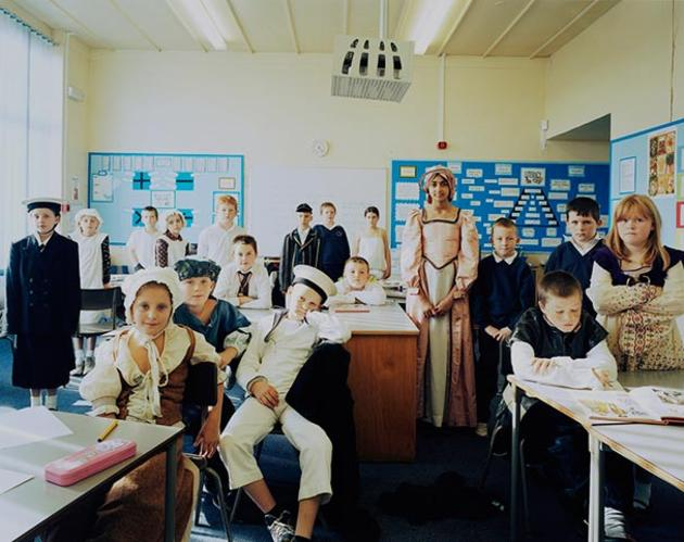 First Day of School in Rural England