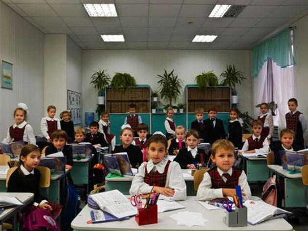 First Day of School in Russia