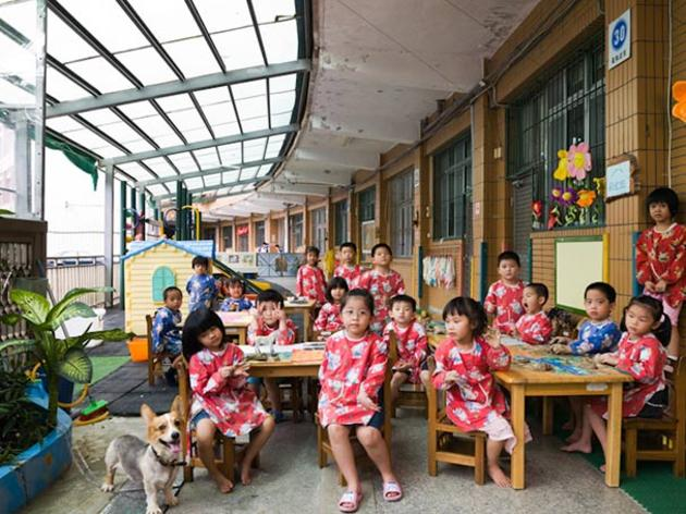 First Day of School in Taiwan