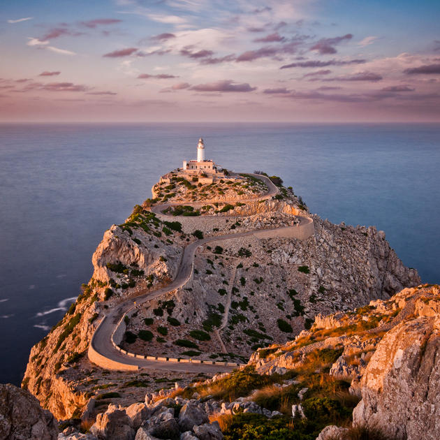 Formentor lighthouse, Balearic Islands, Spain