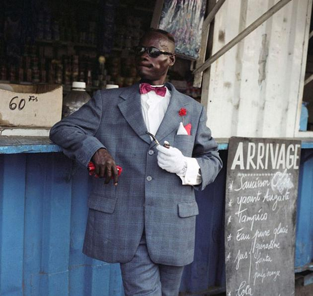 Stylish outfits of congo men photographed by Francesco Giusti